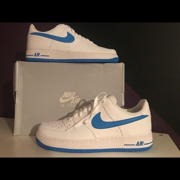 Nike Shoes | Blue Check Air Force